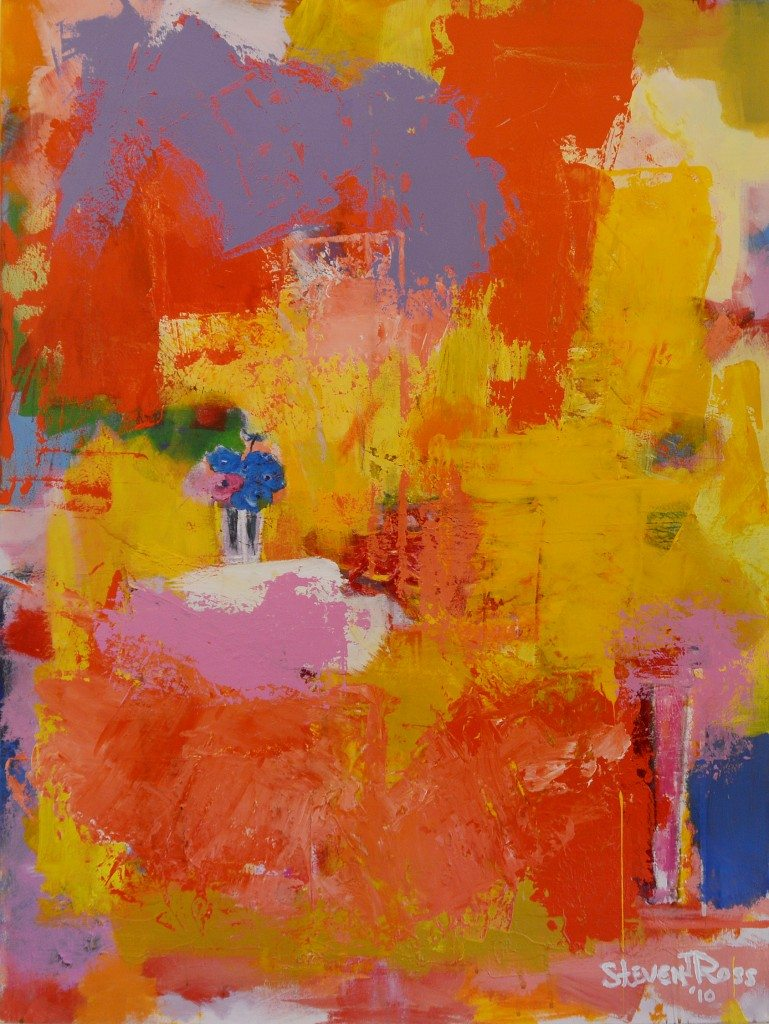 Abstract Paintings Steven J Ross